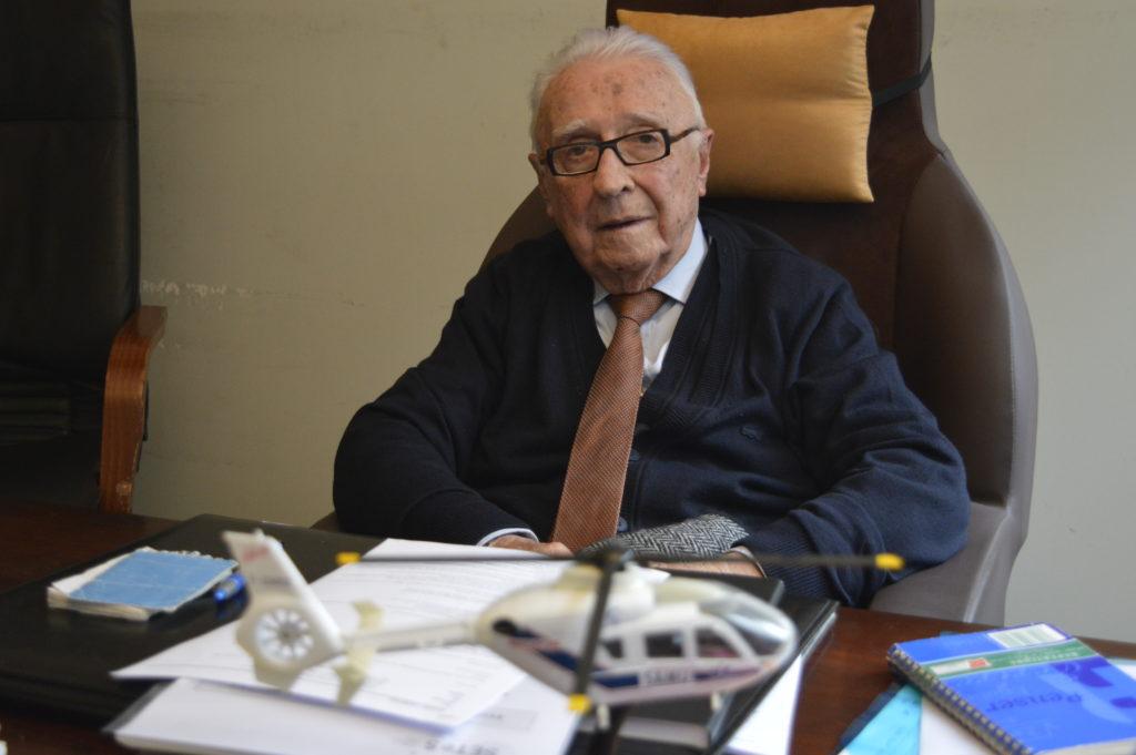 Louis Lareng est celui qui a fondé le SAMU et permis à la télémedecine de se développer en France.