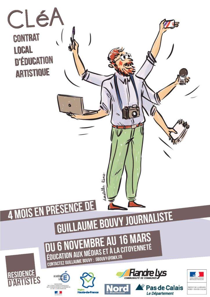 Résidence d'éducation aux médias et à la citoyenneté dans le Nord