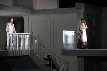 Rodelinda à l'opéra de Lyon. Crédit photo : Jean-Pierre Maurin
